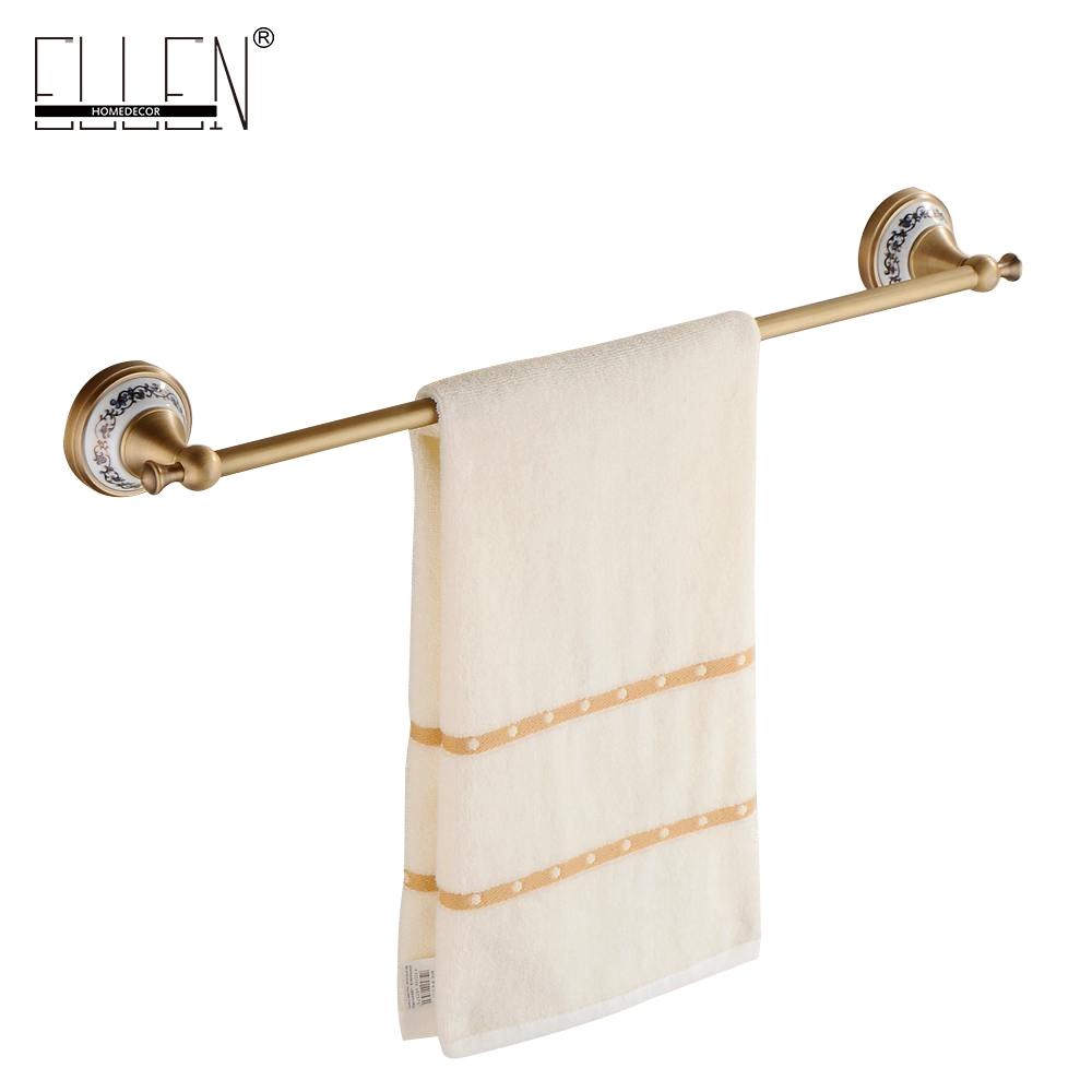 44.00$ Watch now - Wall Mounted Single Towel Bar Bathroom ...