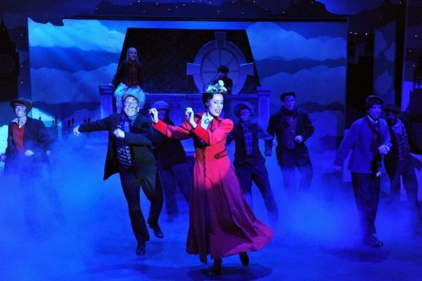 Photo Flash: First Look at Sierra Rep's MARY POPPINS