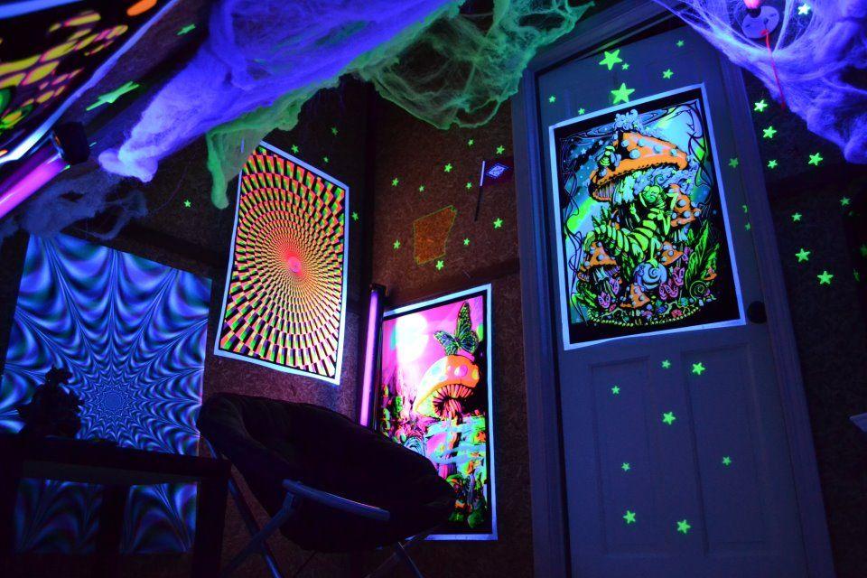 Peace Via Facebook Black Lights Bedroom Chill Room Black Light Room