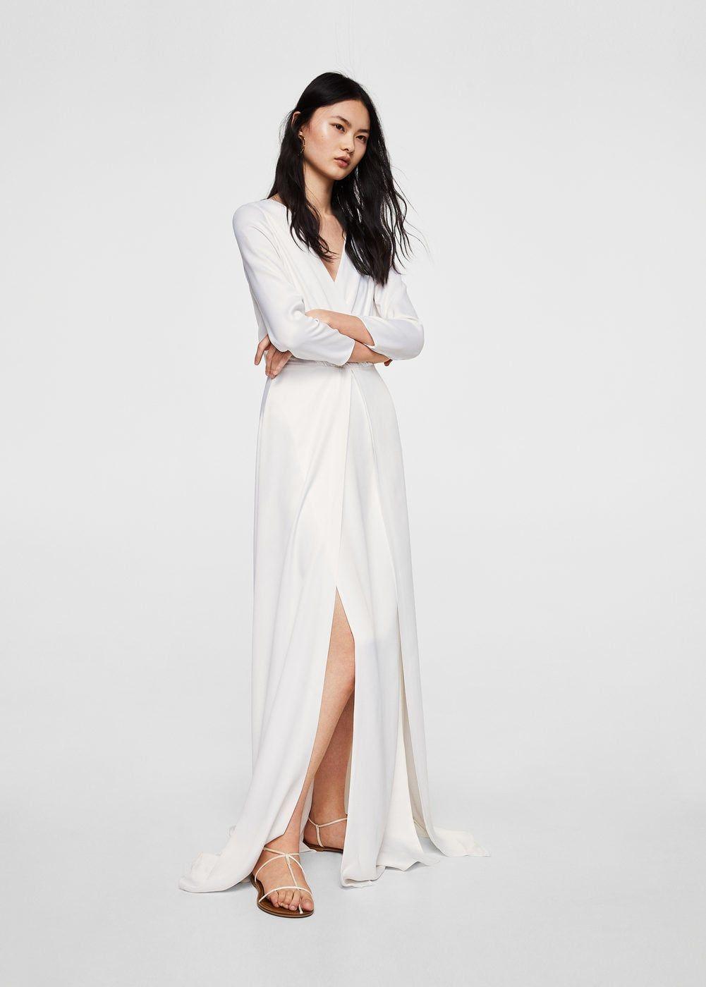 7592cb79e6b Φόρεμα ντεκολτέ κρουαζέ - Γυναίκα, 2019 | φορεματα | Φορέματα ...