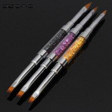 ezone crystal carved colorful paint brush cute brush color