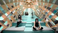 Mexico's Conarte Library Gets a New Dome Shaped Bookshelf You Can Sit In