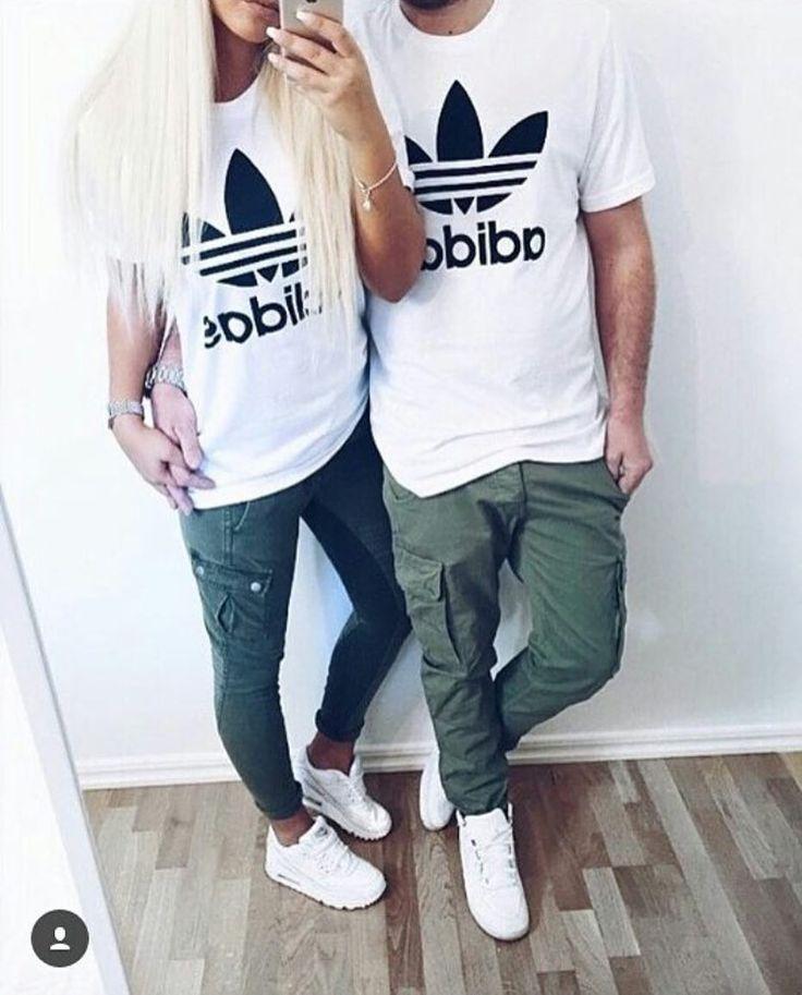 Fashion Active En Instagram Combina Tu Atuendo Con Tu Amor Via Fashiionvogue Matching Couple Outfits Couples Matching Outfits Swag Cute Couple Outfits