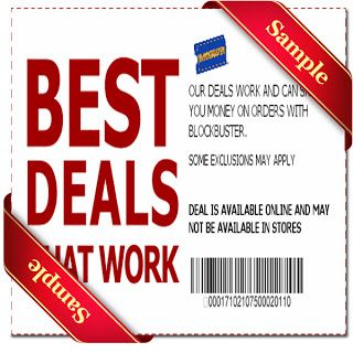 picture regarding Blockbuster Printable Coupon named Blockbuster Printable Coupon December 2016 Discount codes For