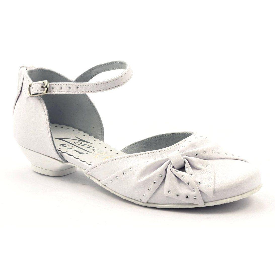 Zarro Buty Dzieciece Czolenka Komunijne Dziewczece Biale Baby Shoes Shoes Fashion