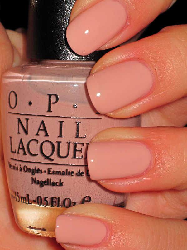 OPI - Miso Happy With This Color   Nailed. It.   Peach nails, Peach ...