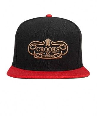 Crooks & Castles - Superlative Snapback Cap - $30