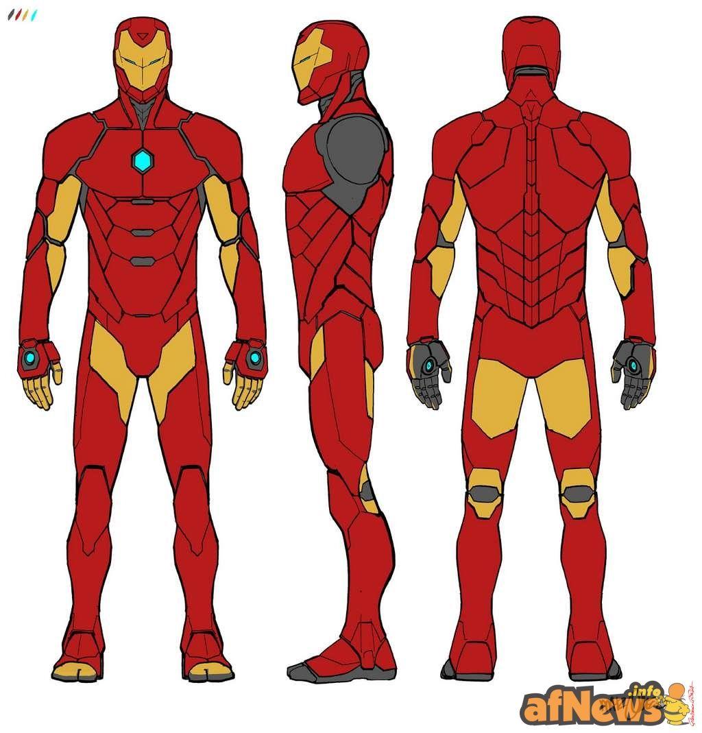 Marvel Unveils New INVINCIBLE IRON MAN Designs - http://www.afnews ...