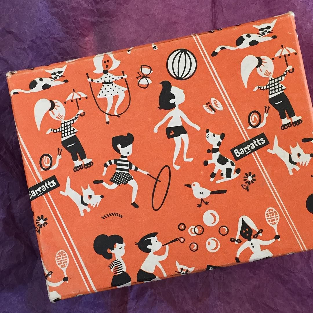 #barratts sweet box 1960's or possibly 1950's?? # ...