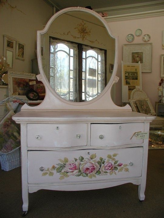 Shabby Chic dresser is creative inspiration for us. Get ...