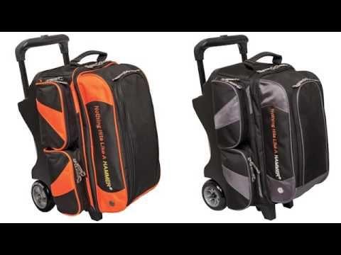Hammer Premium 2 Bowling Ball Roller Bag Bowling Ball Bags Bags Bowling