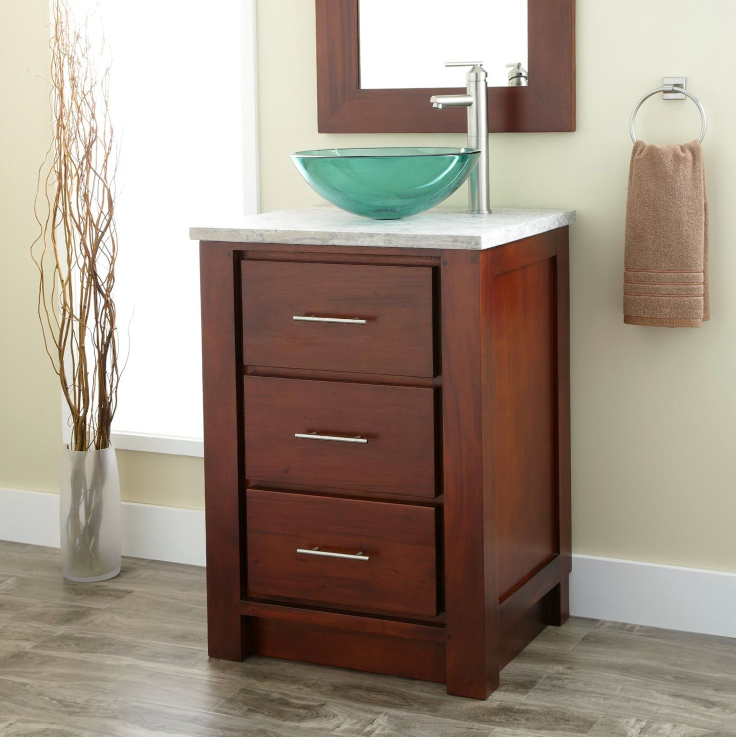 24 Inch Bathroom Vanity And Sink 24 inch bathroom vanity vessel sink | house | pinterest | bathroom