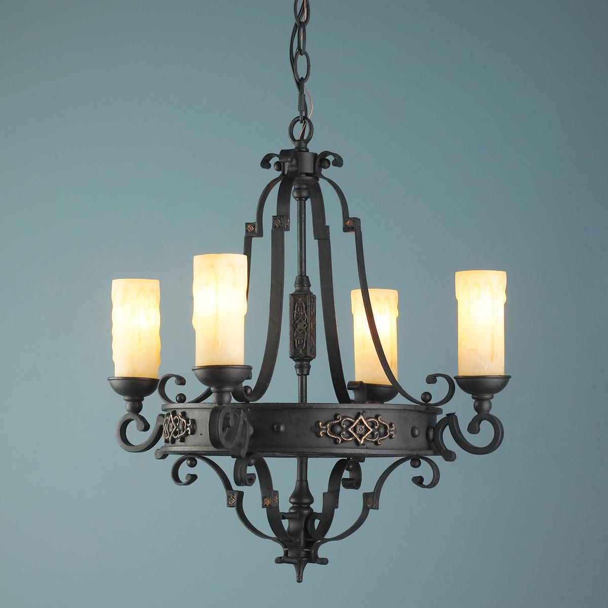 Mini castle candles chandelier for the home pinterest mini castle candles chandelier aloadofball Choice Image