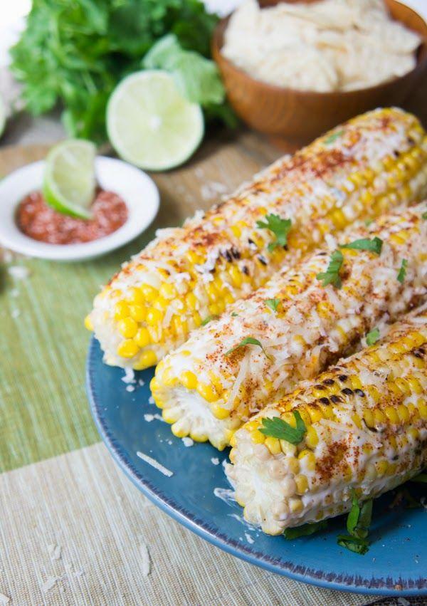 Dondosha الذرة على الطريقة المكسيكى Cooking Recipes Recipes Mexican Grilled Corn