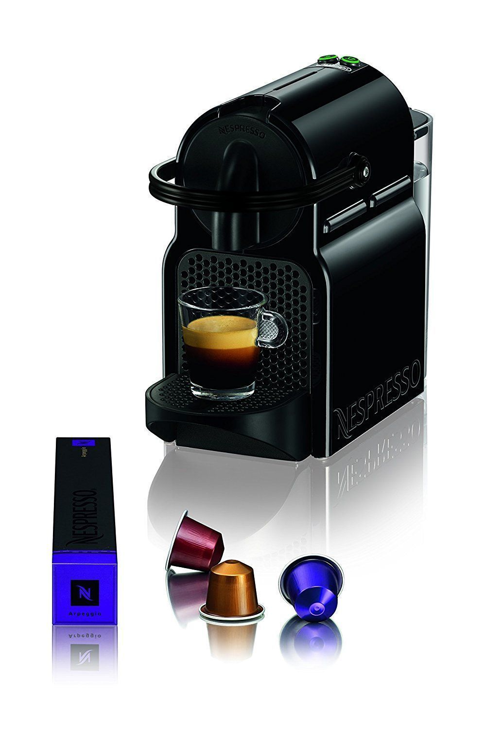 Amazon nespresso inissia espresso machine by deulonghi black