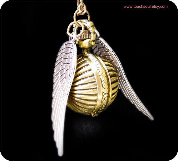 Harry Potter 'Golden Snitch' Locket // Etsy