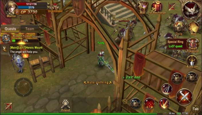 Rings of Anarchy is a Android Free-to-play , Role Playing