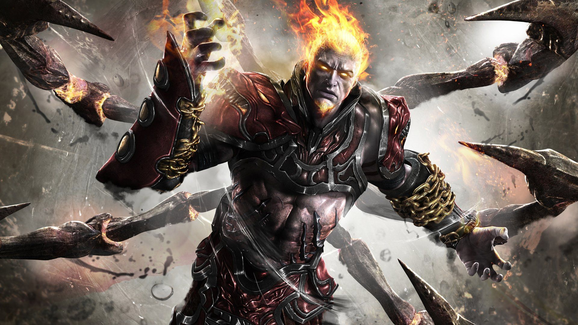 Cool God Of War2 Hd 3d Abstract God Of War God Hades