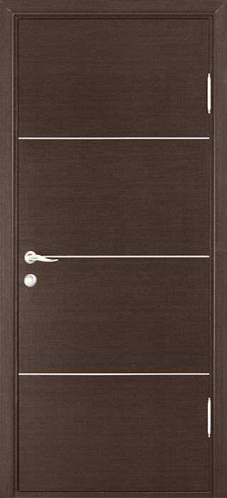Modern Wood Interior Doors beautiful modern interior door in a wenge finish | interior doors