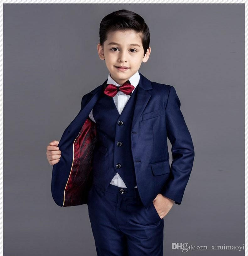 TAOJIAN Baby Vintage Style and Wedding Tuxedo Waistcoat Outfit Suit