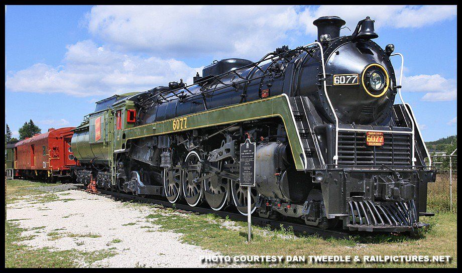 E0048. CN Mountain type 4-8-2 built 1944