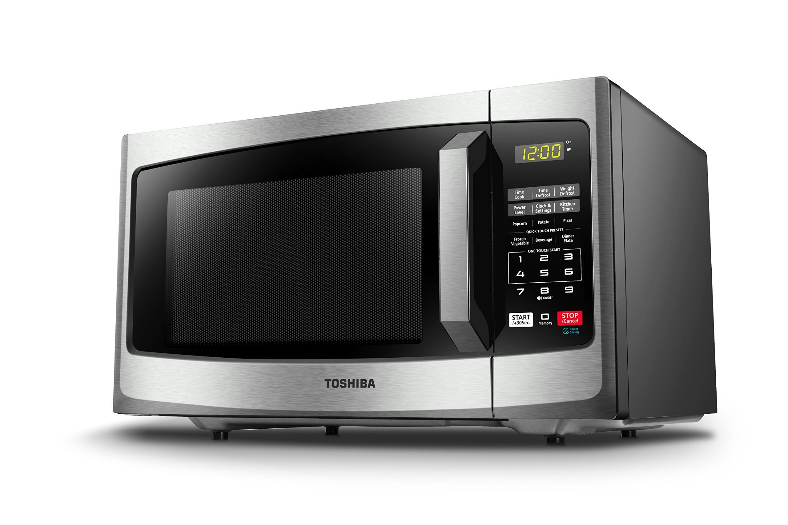 Toshiba Em925a5ass Microwave Oven With Sound On Off Eco Mode And