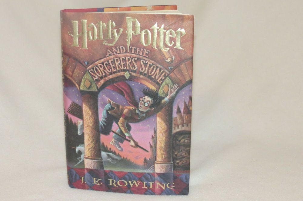 Harry Potter And The Sorcerer S Stone Book Hc Jk Rowling 1st
