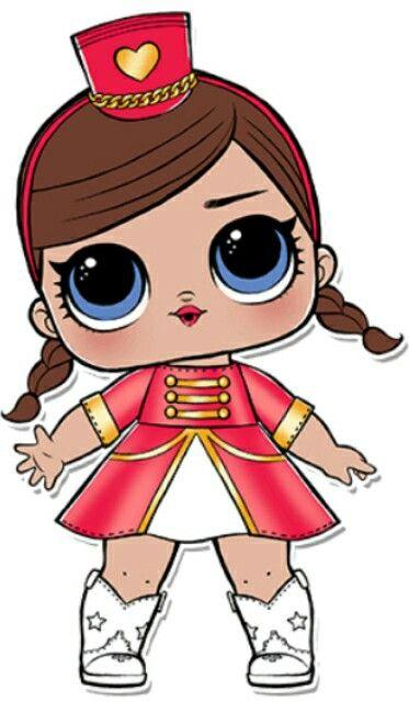 Majorete A Lider Da Banda Lol Dolls Lol Cute Drawings