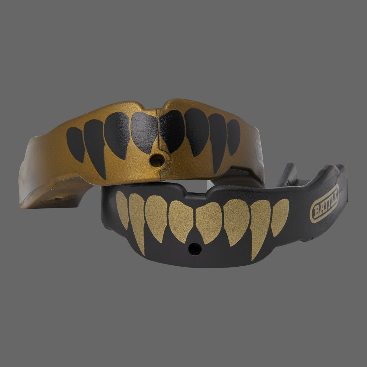 Fangs football mouthguard 2pack mouth guard black