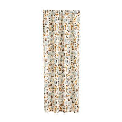 Little Bedding Critter Pals Single Curtain Panel