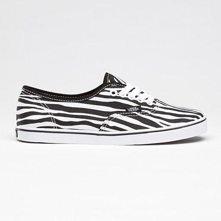 Vans Authentic Lo Pro schoenen zebra