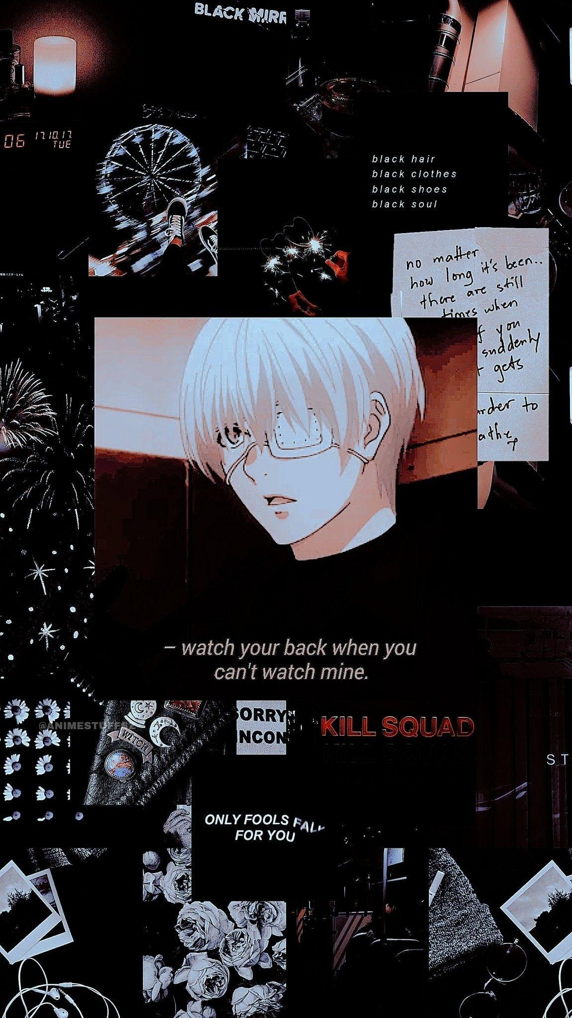 ᴘɪɴ ʜʏs104 ʙɴᴇʟʏ Cute Anime Wallpaper Tokyo Ghoul