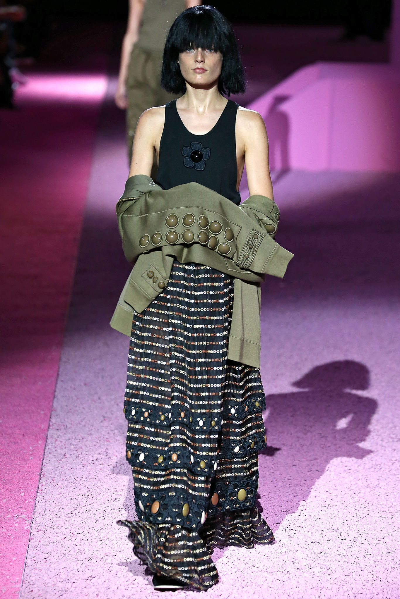 #HanneGabyOdiele for #MarcJacobs Spring 2015 Ready to Wear #NYFW