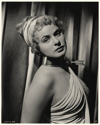Portrait of Ingrid Bergman  in Spellbound directed by Alfred Hitchcock, 1945. Photo by Madison Lacy