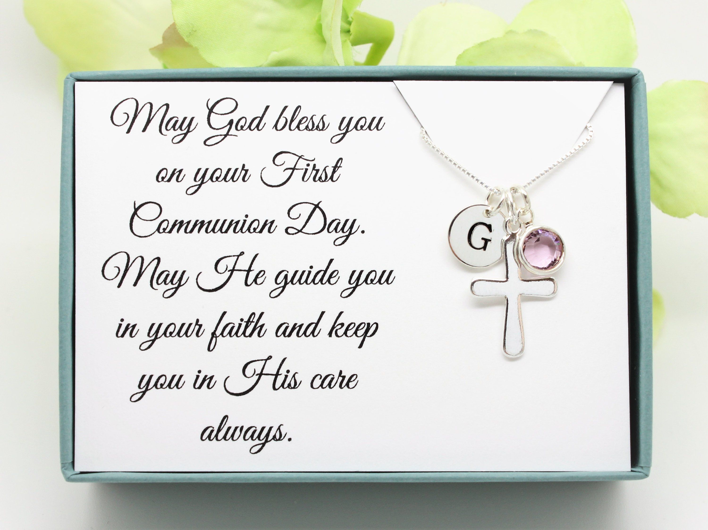 1st Communion Gifts For Granddaughter 2021