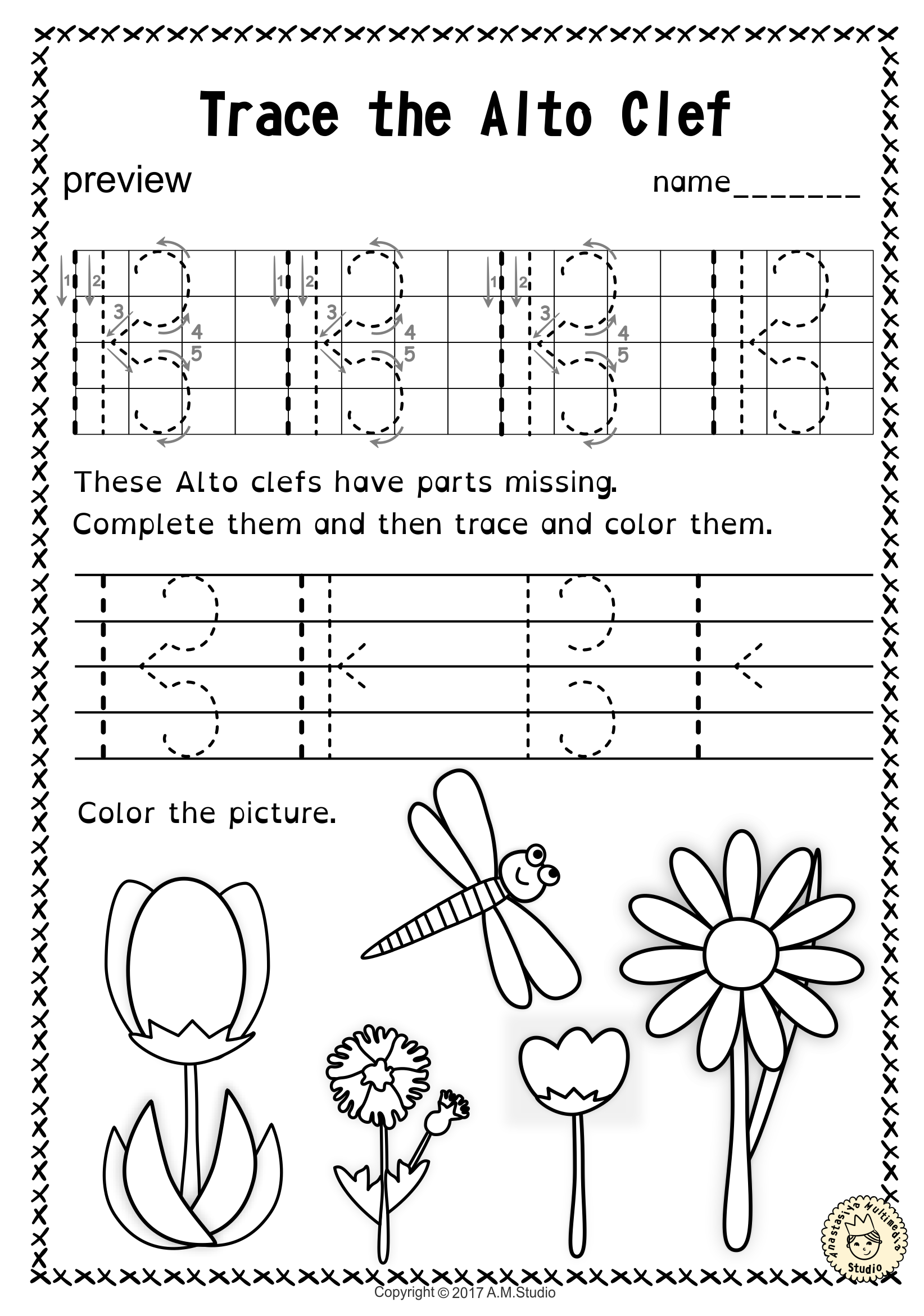 tracing music notes worksheets for spring music worksheets worksheets and student learning. Black Bedroom Furniture Sets. Home Design Ideas