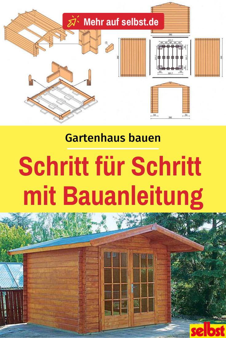 Gartenhaus aufbauen Gartenhaus, Gartenhaus selber bauen