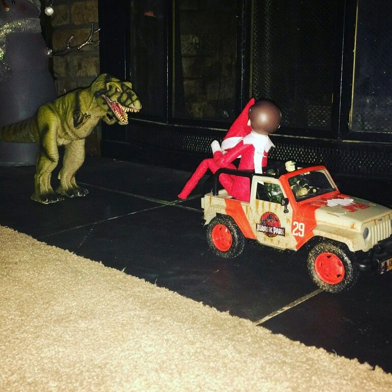 Jurassic park! Elf edition