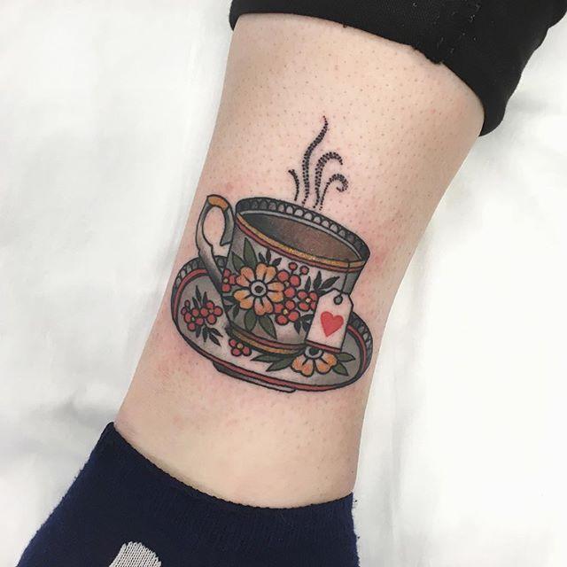 Teacup Tattoo Coffee Tattoos: Super Fun Teacup On Sweet Shannon
