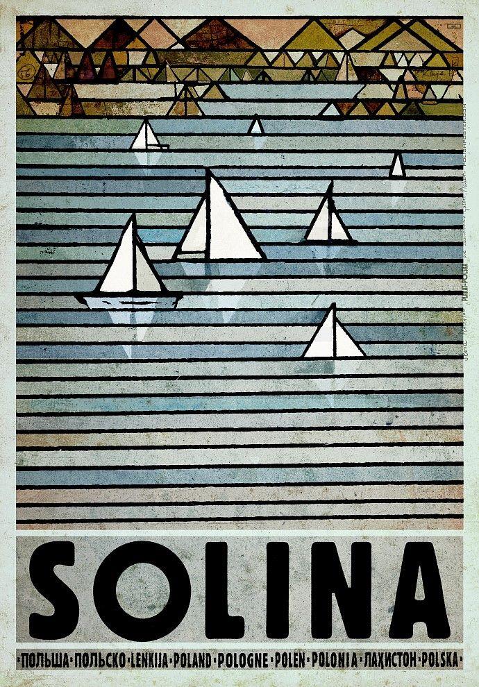 Solina Plakat Z Serii Polska Ryszard Kaja In 2019 Art