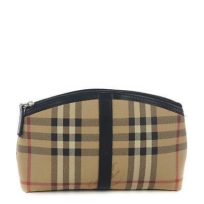 #Trending - BURBERRY Haymarket Check Cosmetic Pouch Bag Black 150832 https://t.co/QCcA4U0grl Ebay https://t.co/A6jta3PkKa