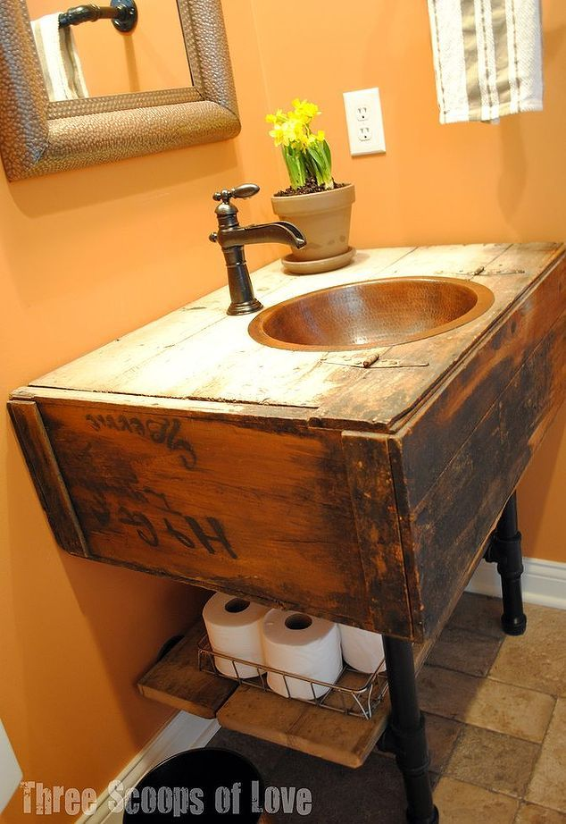 LowCost Ways To Replace Or Redo A Hideous Bathroom Vanity - Cost to replace a bathroom vanity