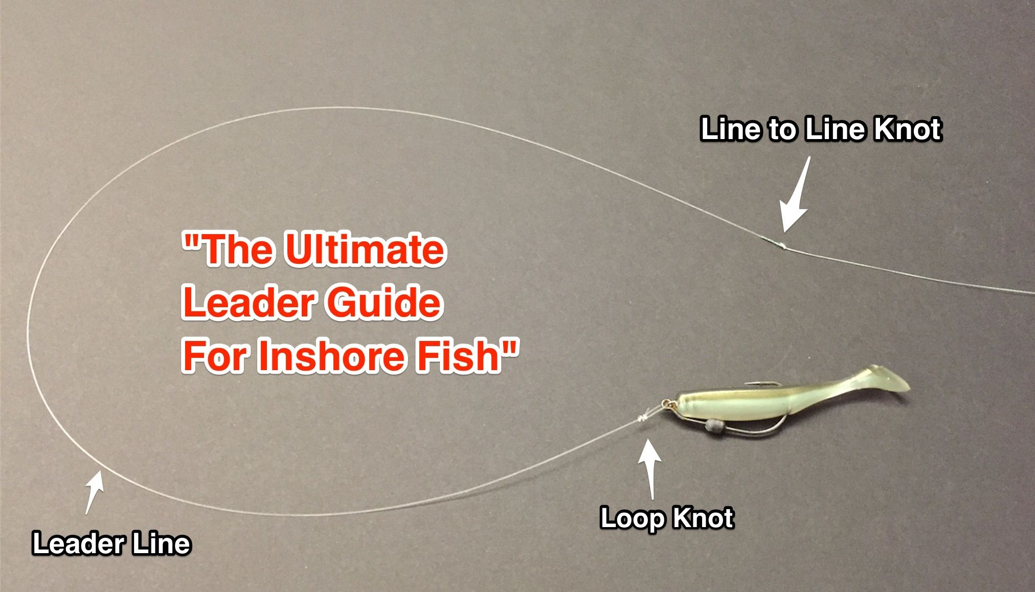 How To Tie The Perfect Fishing Leader For Snook Redfish And Seatrout Crappie Fishing Fishing Tips Saltwater Fishing Lures
