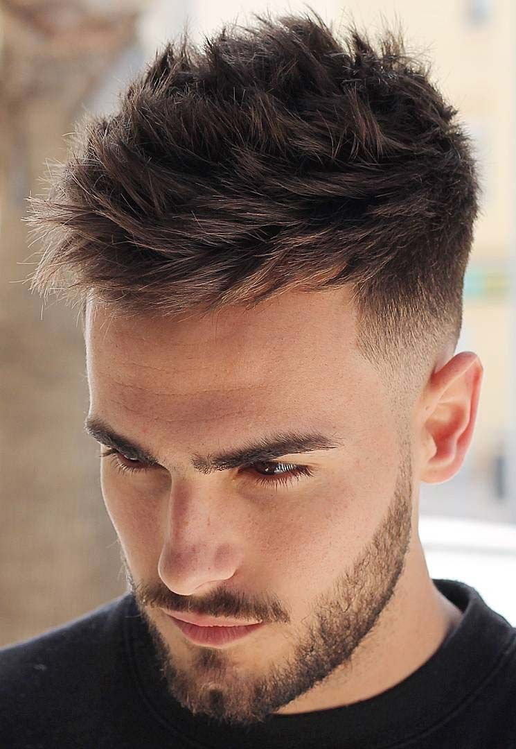 Messy Textured Hairstyle And Haircut For Men With Thin Hair Thick Hair Styles Mens Hairstyles Thick Hair Mens Hairstyles Undercut