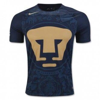 Nike 2019 Pumas Men/'s Third Jersey-Navy-Gold