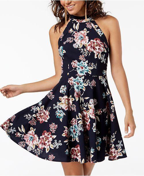 Main Image Dresses Junior Dresses Fit Flare Dress