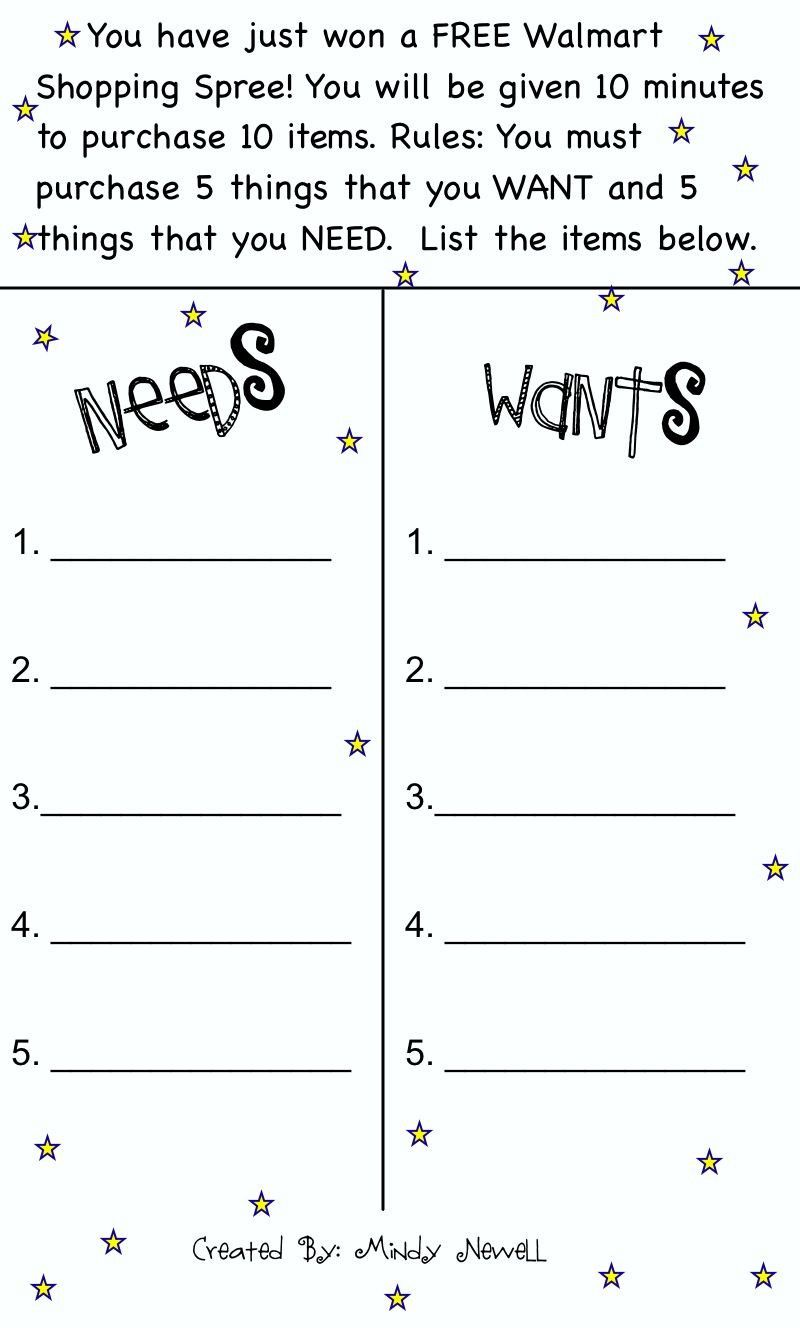 5th Grade Economics Worksheet   Social studies worksheets [ 1328 x 800 Pixel ]
