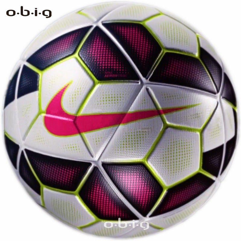 New Nike Ordem Ball Ready For The Premier League La Liga Bundesliga And Serie A Kick Off Enko Football Nike Ordem La Liga Ball
