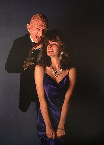 Freddy Krueger Robert Englund And Nancy Thompson Heather