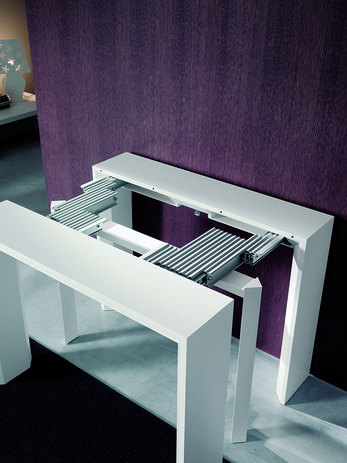 Goliath Transforming Console To Dining Table That Seats 10